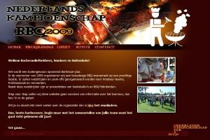 Website NK BBQ 2009
